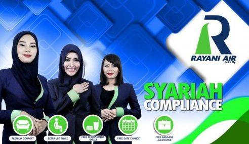 Rayani Air Dipuji Netizen Amal Prinsip Patuh Syariah