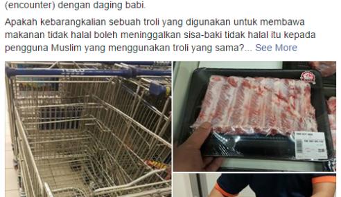 Hikayat Sebuah Troli 'Malang' Bawa Daging Babi..