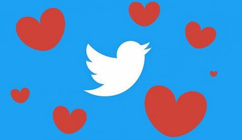 Twitter Tukar Butang 'Favourite' Dengan Bentuk Hati