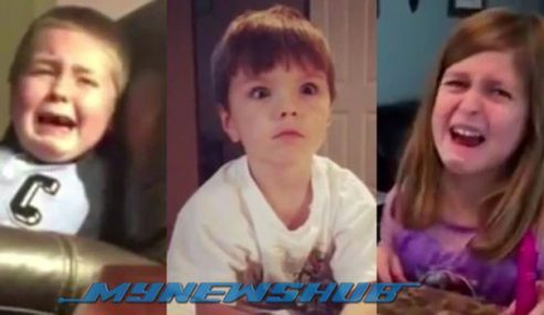 Video: Reaksi Anak Bila Ibu Bapa Makan Gula-Gula Halloween