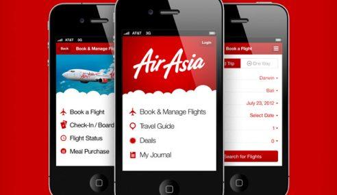 Mobiles Aps Terbaharu AirAsia Bakal Memudahkan Anda