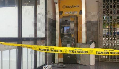 Cubaan Larikan Mesin ATM Guna Kancil Gagal