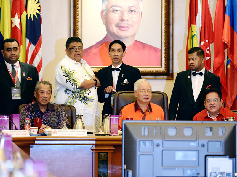 Najib Pengerusikan Mesyuarat MT UMNO