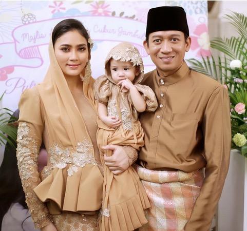 Fasha dan Jejai Raikan Puteri Kesayangan di Majlis Cukur Jambul5