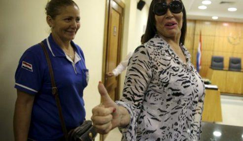 Aktres Argentina Bebas Tuduhan Simpan Barang Kemas