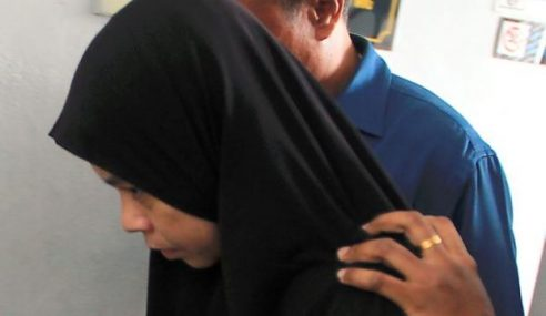Ketua Kerani Dipenjara, Lindungi Suami Pengganas