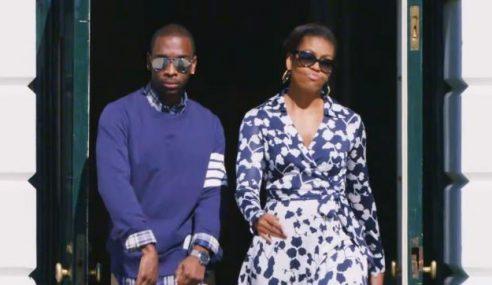 Bintangi Video Rap, Bukti Isteri Presiden US Memang 'Cool'!