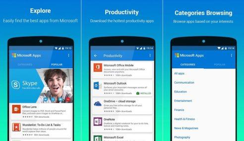 Muat Turun Aplikasi Microsoft Anda Di Microsoft Apps