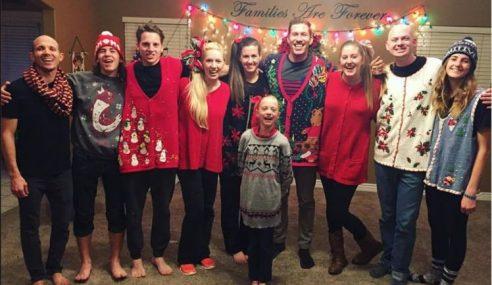 Video Viral, Keluarga Sambut Krismas Dengan Rutin Menari