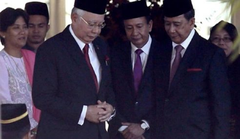 Najib Menghadap Jemaah Pemangku Sultan Kedah
