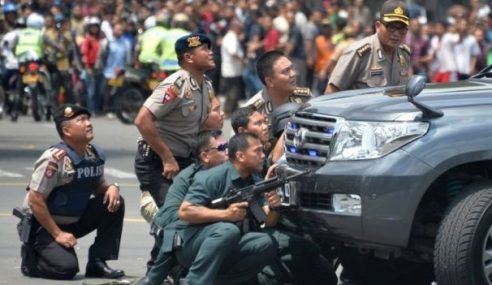 Jokowi Kutuk Serangan Pengganas Di Jakarta