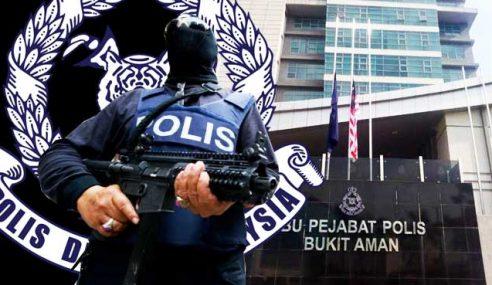 Polis Tidak Gentar Dengan Ugutan IS Nak Serang Bukit Aman