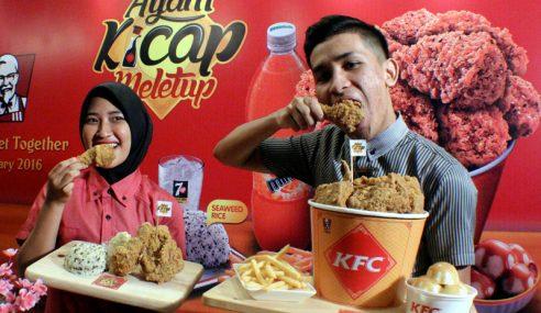 KFC Malaysia Perkenal Semula Menu 'KFC Ayam Kicap Meletup'