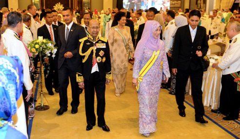 Sultan Kedah Berangkat Hadiri Majlis Jamuan Negeri