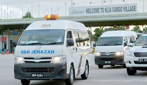 Jenazah 3 Pelajar Malaysia Terkorban Di Jordan Tiba Di KLIA