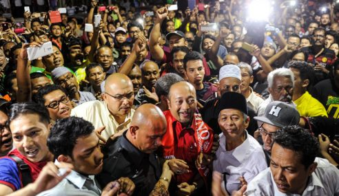 Hanya 1,000 Berkumpul Nyata Sokongan Terhadap Mukhriz