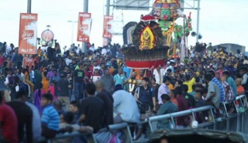 Thaipusam Disambut Meriah Oleh Jutaan Penganut Hindu