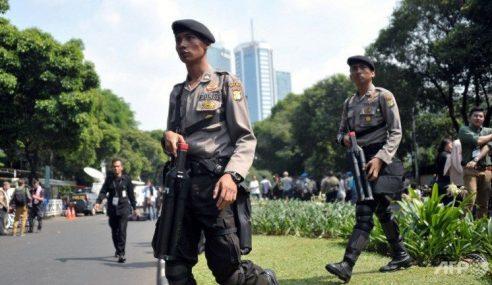 6 Letupan Bom Gegar Jakarta, Balai Polis Hancur, 4 Maut