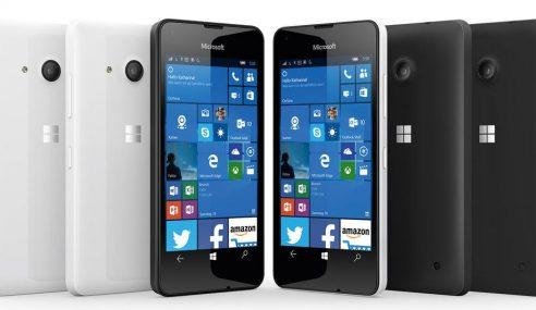 Lumia 550 Dengan Windows 10 Ditawarkan! Berharga RM559
