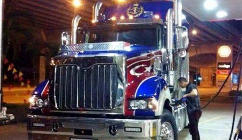 'Optimus Prime' Dipesan Sultan Ibrahim Dah Tiba Di Johor
