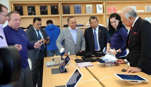 PM Pelawa Apple Buka Cawangan Di Malaysia