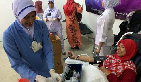 Jabatan Penerangan Melaka Sebar Maklumat Kempen Derma Darah