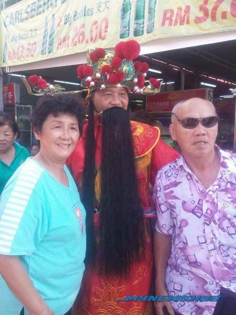ADUN PAS Selangor Tidak Sensitif, Berpakaian Ala Dewa Cina