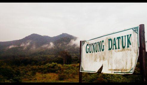 Pendaki Gunung Datuk Yang Dilapor Sesat Ditemui Selamat