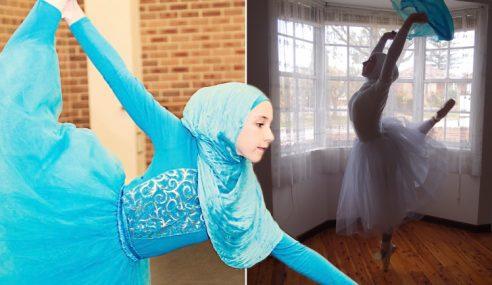 Hasrat Gadis 14 tahun jadi Ballerina Berhijab Pertama