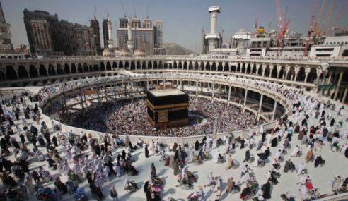 Payung Gergasi Bakal Dipasang Keliling Kaabah
