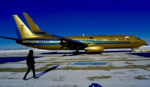 Sultan Johor Beli Pesawat Peribadi Boeing 737-800