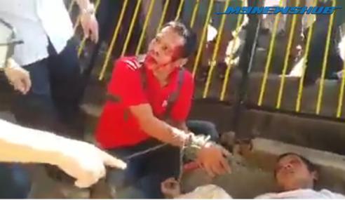Video: Dua Peragut Dibelasah Penduduk Kepong