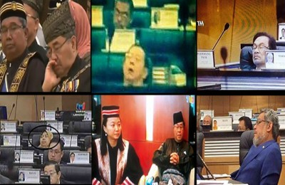 Kisah Tertidur: Lim Kit Siang Terlupa Anaknya Pun Sama!