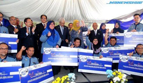 SSM Serah Kutipan Zakat Perniagaan RM1 Juta