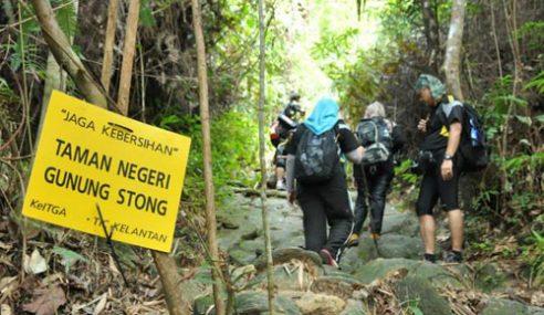 Dikhuatiri Sesat Di Gunung Stong