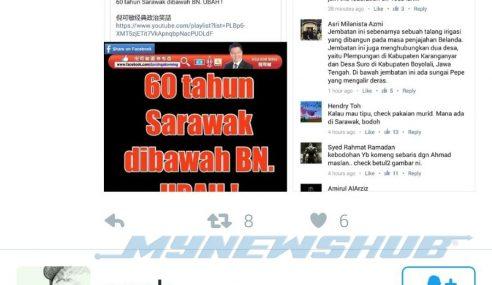 Sebar Gambar Bohong, Nga Kor Ming 'Dibahan' Netizen