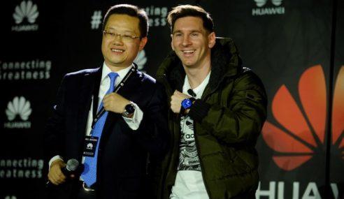 Lionel Messi Dipilih Sebagai Duta Terbaru Huawei