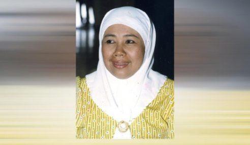 Bekas Timbalan Menteri Pengangkutan Rahmah Osman Meninggal Dunia