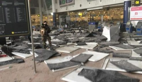 Brussels Bergegar 2 Letupan Kuat 13 Maut 35 Cedera
