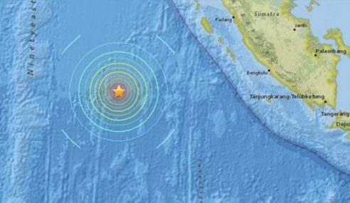 Gempa Kuat Di Sumatera, Tiada Ancaman Tsunami Di Malaysia