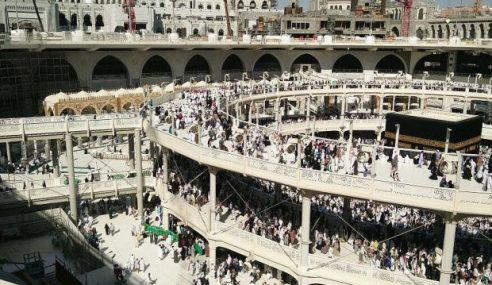 Mataf Keliling Kaabah Diruntuh Mulai 1 April