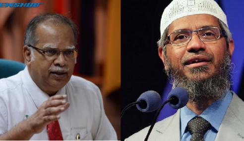 Penganjur Sedia Taja Ramasamy Hadir Ceramah Zakir Naik