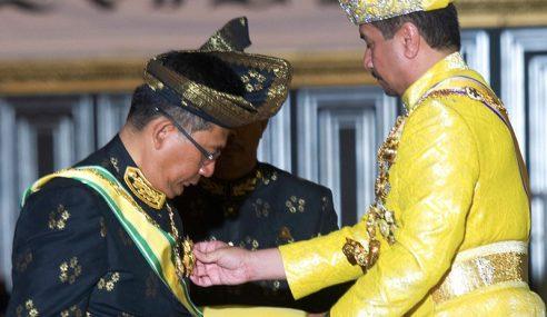 Semua Darjah Kebesaran Negeri MB Terengganu Dilucut