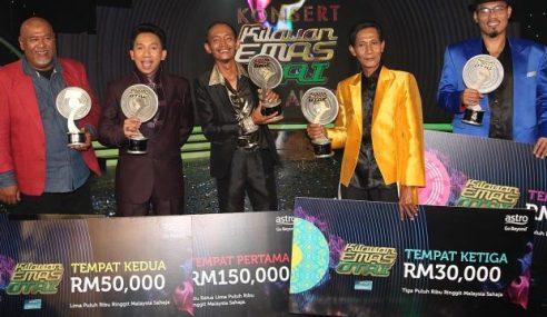 Mustar Juara 'Kilauan Emas Otai', Rangkul RM150,000
