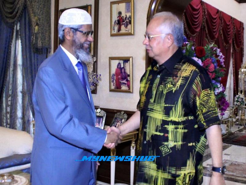 Dr. Zakir Bersarapan Dengan Najib, Abdul Hadi Awang