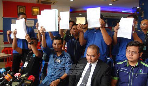 Staf Rayani Air Adakan Sidang Media Tuntut Gaji