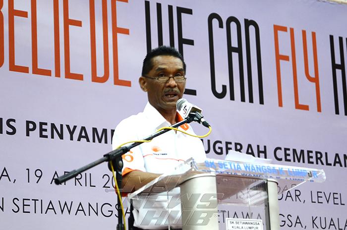 Pengerusi Yayasan Pendidikan Titiwangsa Datuk Hj Astaman Abdul Aziz