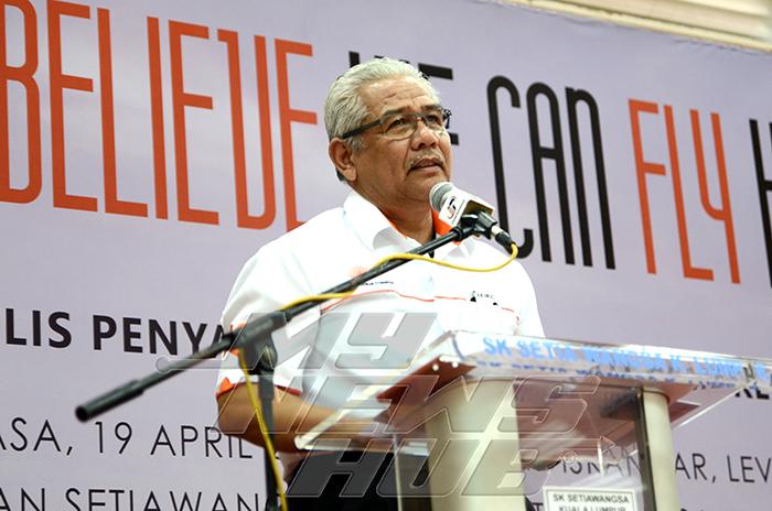 Timbalan Ketua Pengarah Pelajaran Malaysia (Dasar dan Pembangunan Pendidikan) Dato' Hj Khairil Awang