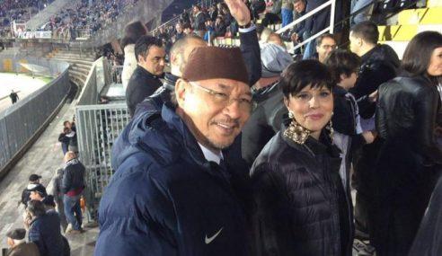 Pemilik FC Bari, Noordin 'Disambut' Dengan Ludah Di Itali