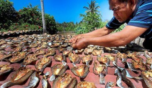 El Nino Jimat Masa Pengeringan Ikan Kering, Keropok